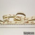 Лента от Thailand - Spring Nature Key Print Cotton Ribbon Label String, 1 метр - ScrapUA.com
