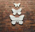 Пластиковое украшение от Е.В.A - Бабочки, 3 шт - ScrapUA.com