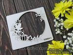 Чипборд рамка осень тыковка от WOODchic, 10х9 см - ScrapUA.com