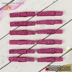 """Прищепки от АртУзор - """"Блеск"""", фиолетовые , набор 12 шт - ScrapUA.com"""