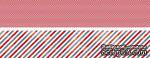 Двусторонняя полоска бумаги - Marine - sumer 2012, 5x30 см - ScrapUA.com