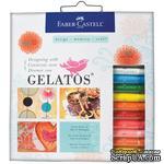 Набор пигментных мелков от Faber Castell  - GELATOS COLORS KIT, 770402 - ScrapUA.com