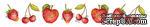 Двусторонний лист с картинками от Galeria Papieru - Herbatka dla Dwojga-owoce, 5х15см,1 шт. -GP-009-02  - ScrapUA.com