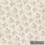 Двусторонний лист бумаги для скрапбукинга от Maja Design - Vintage Spring Basics - 2nd of April, 30x30 см - ScrapUA.com