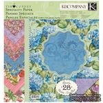 """Набор бумаги от K&Company - """"Сад (спец. эффекты)"""" , размер: 31х31см, 14 листов - ScrapUA.com"""