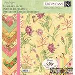 "Набор бумаги от K&Company - ""Весна"", размер:  31х31 см, 12 листов, 12 листов - ScrapUA.com"