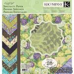 """Набор бумаги от K and Company - """"Яркий мир растений"""", размер: 31х31 см - ScrapUA.com"""