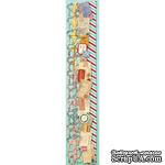 """Набор самоклеющих бумажных ленточек от K and Company - """"Вокруг света"""", 30 см - ScrapUA.com"""