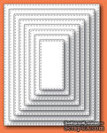 Ножи от Memory Box - Stitched Rectangle Layers craft dies - ScrapUA.com
