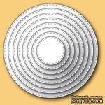 Ножи от Memory Box - Stitched Circle Layers craft dies - ScrapUA.com