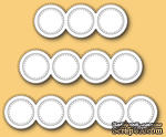 Ножи от Memory Box - Stitched Rings craft die - ScrapUA.com