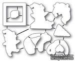 Ножи от Memory Box — Playtime Elves die set - ScrapUA.com