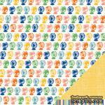 Двусторонний лист картона от American Crafts - Globetrotter, 30х30 см, 1 шт. - ScrapUA.com