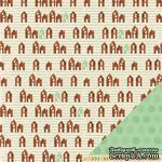 Двусторонний лист картона от American Crafts - Get Cozy, 30х30 см, 1 шт. - ScrapUA.com