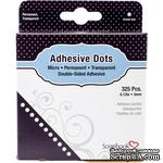 Клеевые капли Scrapbooking Adhesives - Adhesive Dots Permanent, 3 мм, 325  - ScrapUA.com