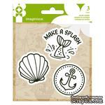 Набор штампов от  Imaginisce - Mermaid, размеры упаковки 9,5 х 13,3 см - ScrapUA.com
