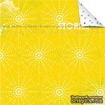 Лист бумаги для скрапбукинга от Lemon Owl - Plans for Today, Document Stories, 30x30 - ScrapUA.com