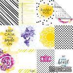 Лист бумаги для скрапбукинга от Lemon Owl - Plans for Today, Mini cards, 30x30 - ScrapUA.com