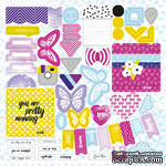 Лист высечек от Lemon Owl - Plans for Today, Die Cuts #01 - ScrapUA.com
