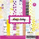 Набор бумаги от Lemon Owl - Plans for Today, Paper pads, 24 стр.,15х15см - ScrapUA.com