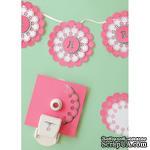 Стартовый набор от Martha Stewart для создания салфеток (ажурных дырокольных кругов) - Circle Edge Punch Starter Kit - ScrapUA.com