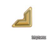 Уголки для фото от Scrapbook Adhesives - Paper Photo Corners Self-Adhesive- Gold, 12мм, 108 шт. - ScrapUA.com