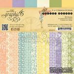 Набор скрапбумаги Graphic 45 - Secret Garden - Patterns & Solids Pad, размер 15х15 см, 12 листов - ScrapUA.com