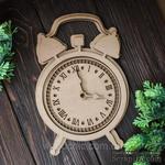 Заготовка артборд Часы от WOODchic, 16х24см,мдф 3мм - ScrapUA.com