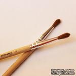 Кисть из волоса колонка круглая. Ручка короткая, 2110 №5 Ш - ScrapUA.com