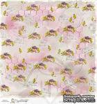 Лист бумаги для скрапбукинга от Magnolia - BLESS/ROSE - ScrapUA.com