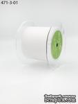 Лента тюль белая,  ширина 76 мм, длина 90 см - ScrapUA.com