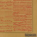 Двусторонний лист бумаги от Galeria Papieru - Przesyłka Ekspresowa 04, 30,5x30,5см - ScrapUA.com