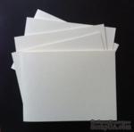 Набор заготовок для открытки Long, 11,5 х15,3 см, цвет слоновая кость, 5 шт. - ScrapUA.com