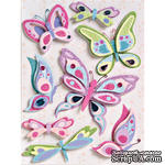 Набор наклеек от K&Company - Sparkly Sweet Flies Grand - ScrapUA.com