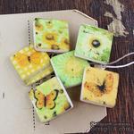 ЦЕНА СНИЖЕНА! Набор украшений-плиток Prima - Art Tiles Sun Kiss - ScrapUA.com