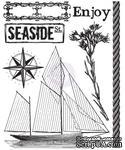 Акриловый штамп от Prima - Seashore Clear Stamp 1 - ScrapUA.com