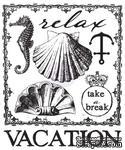 Акриловый штамп от Prima - Seashore Clear Stamp 2 - ScrapUA.com