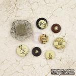 ЦЕНА СНИЖЕНА! Фишки Prima - Flair Buttons - Time Traveler's Memories - ScrapUA.com