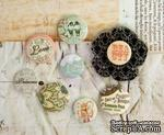 ЦЕНА СНИЖЕНА! Набор пуговиц  от Prima - Princess- Flair Buttons, 8 шт. - ScrapUA.com