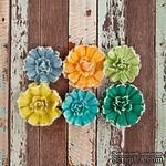 ЦЕНА СНИЖЕНА! Набор цветов Prima - Free Spirit Flower - Funky - ScrapUA.com