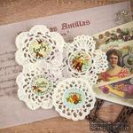 ЦЕНА СНИЖЕНА! Вязаные украшения Prima - Crochet Icons - Cigar Box Secrets - ScrapUA.com