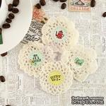 ЦЕНА СНИЖЕНА! Вязаные украшения Prima - Crochet Icons - Coffee Break - ScrapUA.com