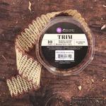 Лента Prima - Weave Trim - Mushroom, цвет бежевый, 90 см - ScrapUA.com