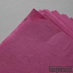 Тутовая бумага ручной работы, цвет фуксия, формат А4 - ScrapUA.com