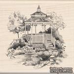 Резиновый штамп от Inkadinkado - Садовая беседка - ScrapUA.com