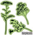 Набор резиновых штампов от Inkadinkado - Field of Flowers, 3 шт - ScrapUA.com