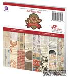 ЦЕНА СНИЖЕНА! Набор бумаги от Prima - Allstar Paper Pad, 48л. - ScrapUA.com