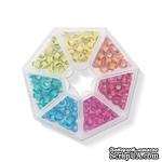 Набор люверсов с контейнером от WeR Memory Keepers – Bright, 140 шт., 7 цветов - ScrapUA.com