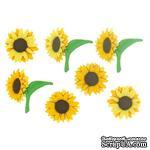 Набор декоративных пуговиц Dress It Up - Fall Blooms - ScrapUA.com
