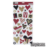 Наклейки - American Crafts - Etc. Love - ScrapUA.com
